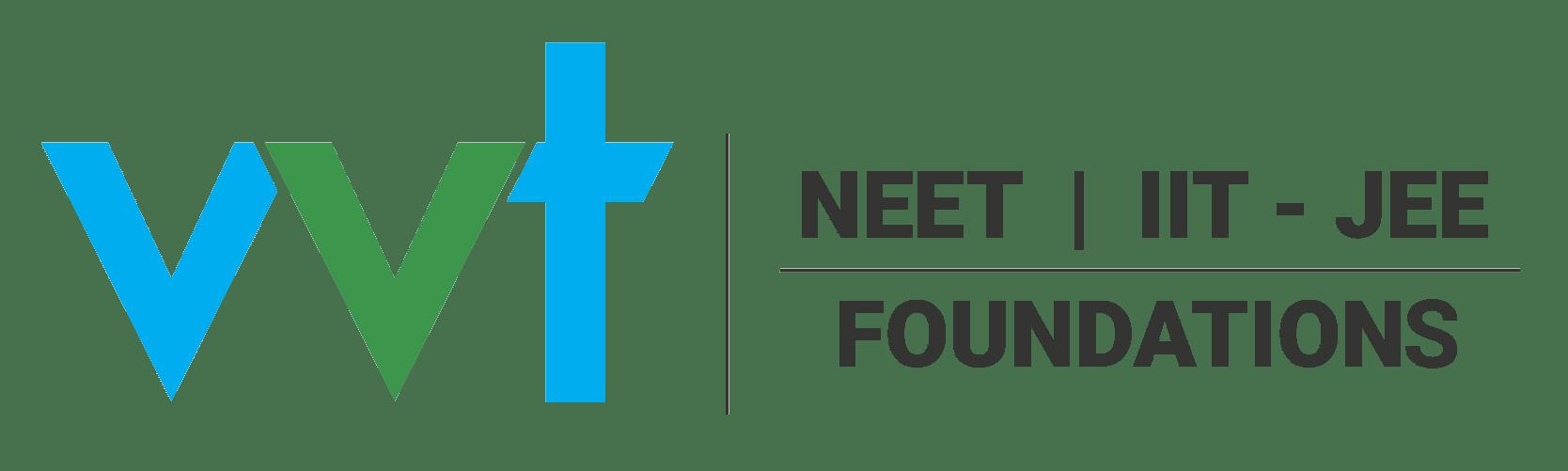 VVT NEET IIT-JEE Foundations Logo