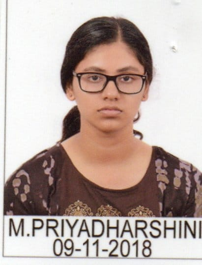 Priyadharshini M